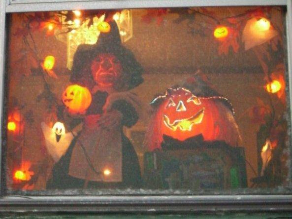 Halloweenwindow